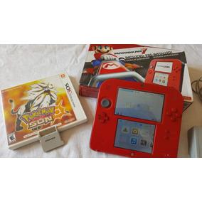 Console Portátil Nintendo 2ds Incluido Preinstalado Mariokar