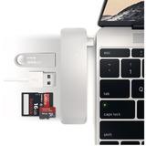 Adaptador Usb C 5 En 1 Usb 3.0 Lector Sd P/ Macbook Touchbar