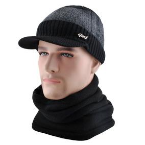 Einskey Mens Sombrero De Invierno Bufanda Conjunto Lana T ca4a786bd6a4
