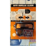 Alarma Automotriz Auto Antigüo Clásico 6 Volts 12 Volts