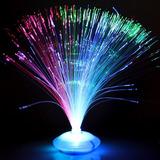 20 Abajur Fibra Ótica Enfeite Mesa Neon Festa 15 Anos Glow