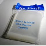 Sobres Plásticos Para Cd Y Dvd 100 Micrones Con Solapa X100u