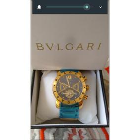 959f8300d77 Relogio Dourado Iron Man Bv Bullgari Masculino Dourado D576. R  385