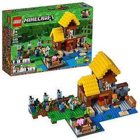 Lego Minecraft The Farm Cottage 21144 Kit De Construcción (5
