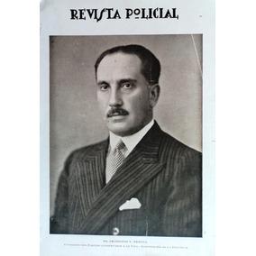 Antigua Revista Policial De La Nación Nº 50 (febrero 1931)