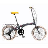 Bicicleta Juan Plegable Rodado 20 7vel Aluminio Bicijuan