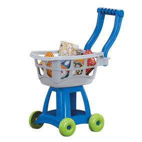 Carrito De Super + Compras Juguete Niños - American Plastic
