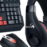 Teclado + Mouse + Auriculares Gamer Genius Kmh-200 Febo