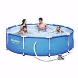 Piscina estructural con filtro piscinas en mercado libre for Piscina estructural intex