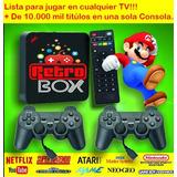 Retro Box Consola +10000 Mil Juegos,ps,nintendo,snes,family