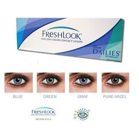 1d0fddd7da216 Lentes De Contacto Freshlook Sellados Gris Verde Azul Turque ...