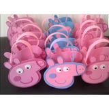 Sorpresitas Bolsitas Goma Eva Peppa Pig Dulceros Infantiles