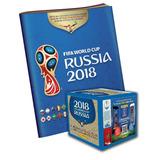Caja De Figuritas Copa Mundial De La Fifa + Album Obsequio