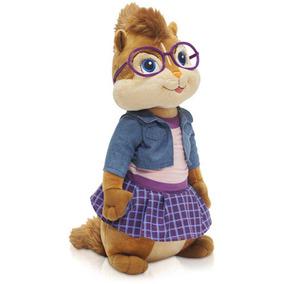 Pelucia - Alvin E Os Esquilos - Jeanette Pequena Bbr