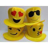 Sombrero Galera De Tela Fluo C  Flor Grande Para Quinceañera.   310. 18x    17 22 sin interés. 2 vendidos - Montevideo. Galera Emoji Emoticon Gorro d45e1d7e927