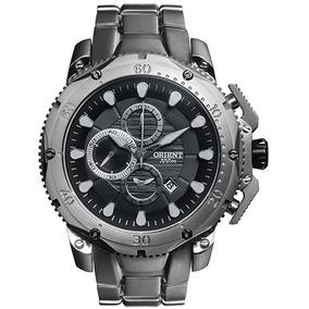 Relógio Orient Cronógrafo Masculino Titanium Mbttc011