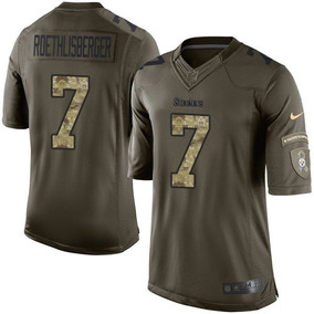 Jersey Steelers Pittsburgh Camuflaje Verde Roethlisberger 7