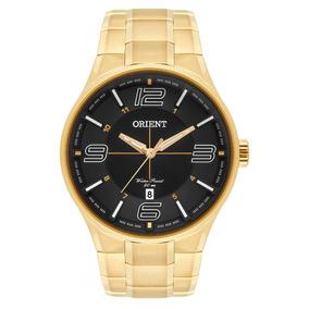 Relógio Orient Masculino Original Dourado Mgss1136 P2kx + Nf