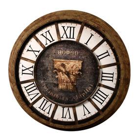 a7af0fd643e Relógio De Parede Decorativo Romano De Metal por Maria Pia Casa