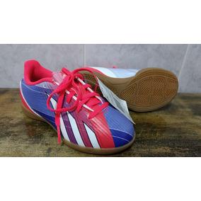 Chuteira Futsal Infantil adidas Predito F32580 Rosa - Verde. 1 vendido -  Minas Gerais · Chuteira F5 Tf In J Futsal Infantil Original Frete Grátis 334c125c0d1f4
