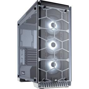 Corsair Gabinete Pc Gamer 570x Blanco Rgb Cristal 3 Fan