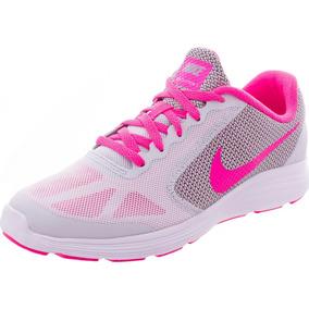 Tenis Nike Color Primario Plateado De Mujer En Mercado Libre México 5b6fab9f563