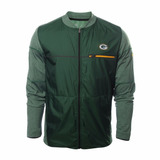 Chamarra Shield Onfield Oficial Nike Nfl Green Bay Pack 2017