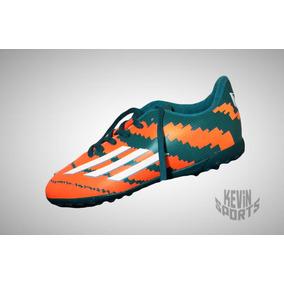 Chuteira Adidas F10 Messi Society Cor Principal Laranja - Chuteiras ... 6353740470f6c