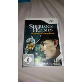 Sherlock Holmes Nintendo Wii Europeu Pal
