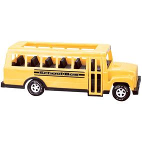 Omnibus Autobus Escolar Juguete Grande - American Plastic