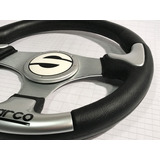 Volante Deportivo Tuning Racing Sparco Silver Negro Vsc1-2
