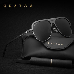 Óculos De Sol Grife Guztag Uv400 Lentes Hd Polarizadas