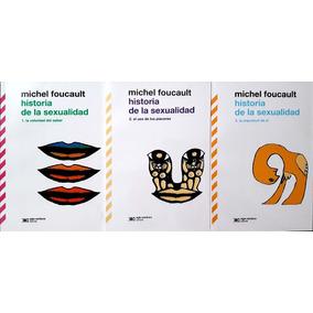 Historia De La Sexualidad-tres Tomos-michel Foucault