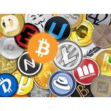 Bitcoin Iota Etherum Ada Ripple Litecoin Dash Monero Nem