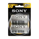 Pilas Alcalinas Sony D X2 Ultra Sum1-nubb2a/c Duración Nnet