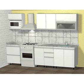 Muebles De Cocina De Melamina Para Armar - Muebles de Cocina en ...