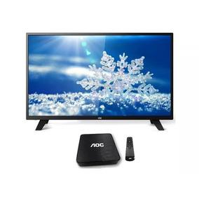 Tv Led Aoc 32 + Android Tv Box Smart Netflix