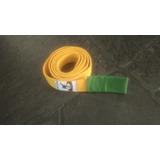 Cinturon Taekwondo - Amarillo Pta Verde -