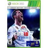 ..:: Fifa Soccer 18 Legacy Para Xbox 360 En Gamewow ::..