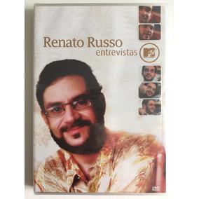 Dvd Renato Russo Entrevistas Mtv (2006) Lacrado De Fábrica!!