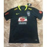4bc940010b Camisa Seleção Brasileira Treino Itaú Viagem - Camisa Masculina de ...