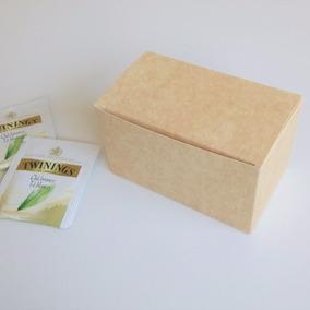 Cajita De Carton Para Empaquetar Regalos - Caja Para Te