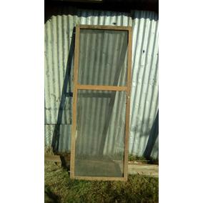 Puertas mosquiteras en madera en mercado libre uruguay for Mosquiteros de madera