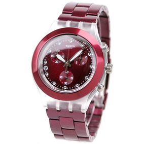 Reloj Swatch Full Blooded Burgundy Svck4054ag | Original