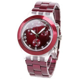 Reloj Swatch Full Blooded Burgundy Svck4054ag | Original