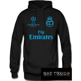 Sudadera Real Madrid Champions League Hoodie Capucha