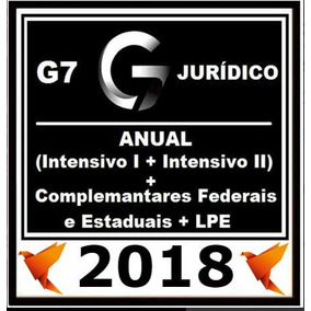 Carreiras Juridicas Anual Intensivo I + Intensivo Ii G7 2018