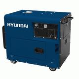 Generador Hyundai Diesel Insonorizado Monofásico 8kw