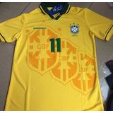 6b25c8dd0c325 Camisa Brasil Retrô 1994 Oficial Copa 94 Romário Bebeto Raí