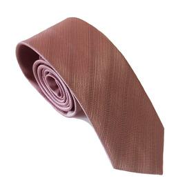 Gravata Rose (rosa Seco) Trabalhada - Promoção